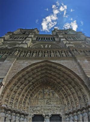 portale della Cattedrale di Notre Dame